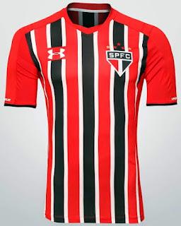 gambar lengkap Jersey Sao Paulo away terbaru musim depan 2015/2016