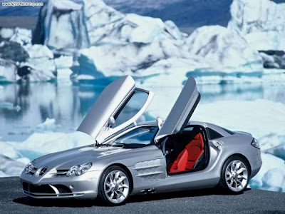 two doors mercedes benz automotive sport car