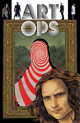 Cover of Art Ops #1, courtesy of Vertigo Comics