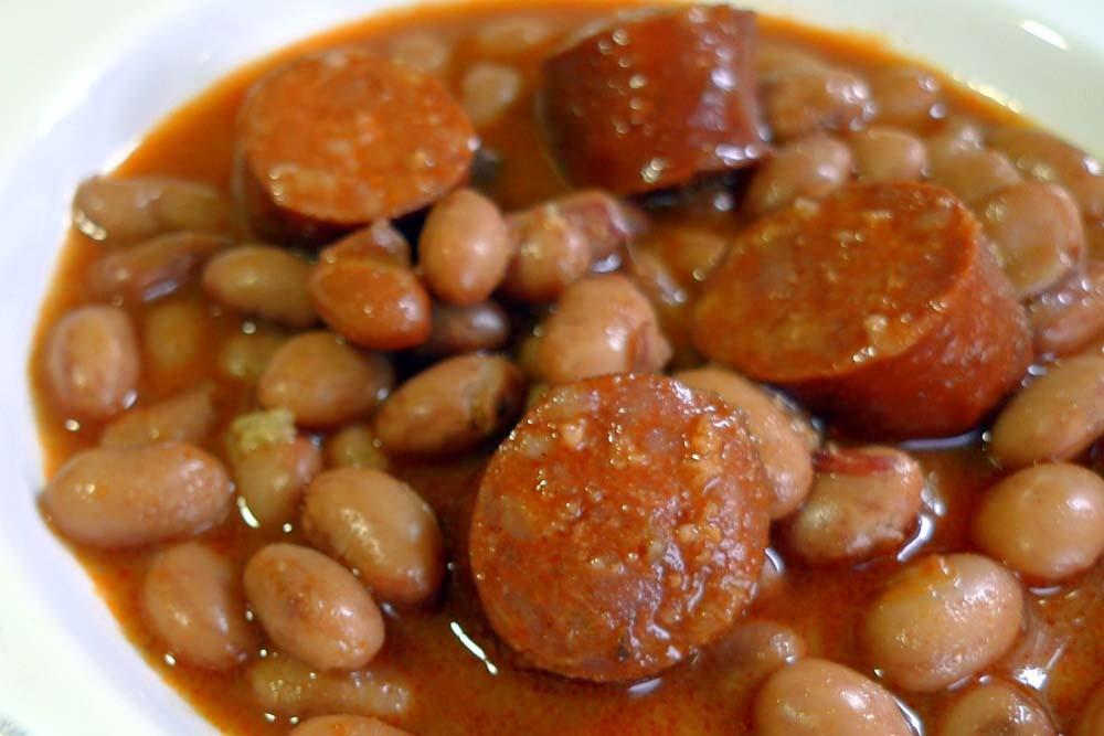 Las recetas de la cookermatic judias pintas - Judias con chorizo y patatas ...