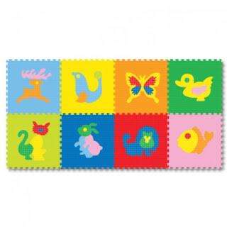 Jual Karpet Puzzle Evamat gambar Hewan murah