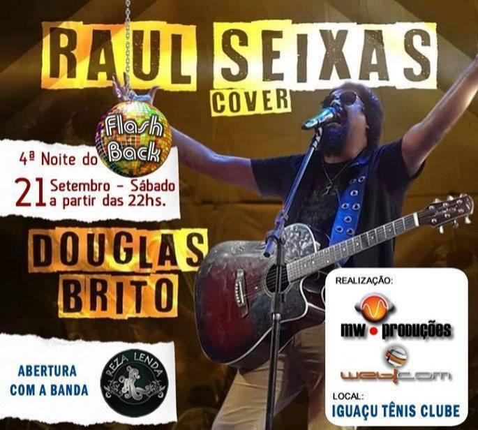 RAUL SEIXAS COVER - 21 Setembro em Laranjeiras do Sul