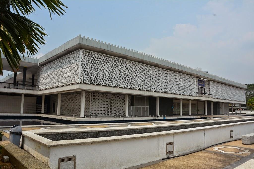 National Mosque Kuala Lumpur prayer room