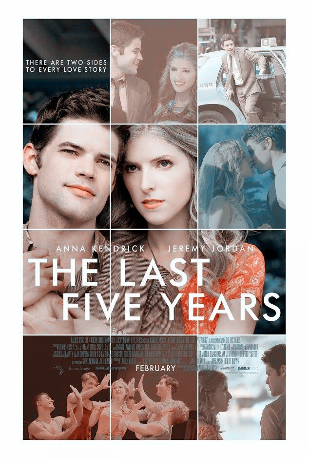 Sinopsis Film The Last Five Years (Anna Kendrick, Meg Hudson, Jeremy Jordan)