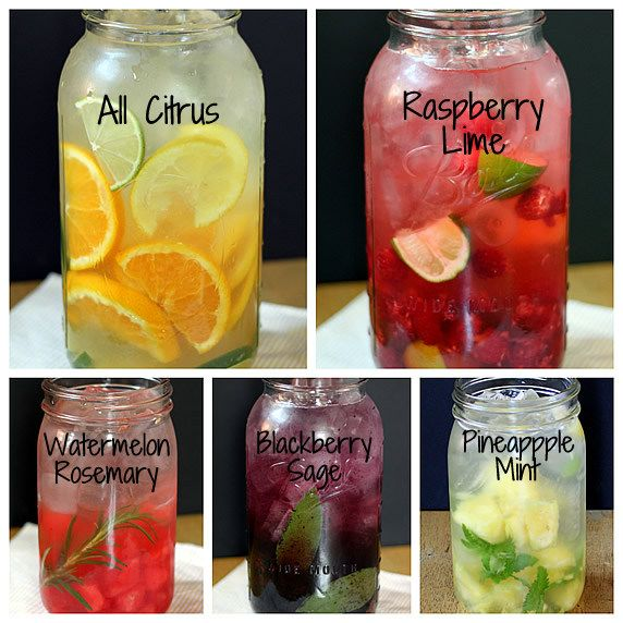 The Yummy Life infused waters