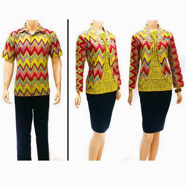 Baju Batik Pasangan Motif RangRang