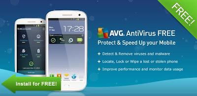 أفضل تطبيقات مجانية مكافحة الفيروسات لأندرويد Avg