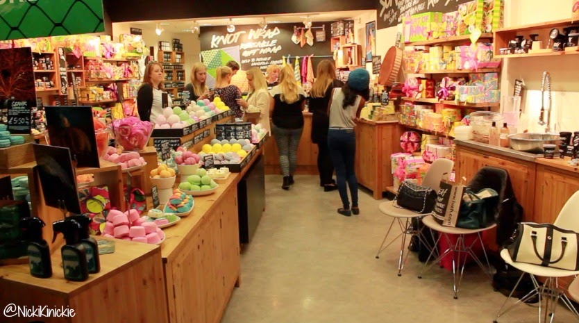 Lush Cosmetics, Blogger Event, lbloggers, bbloggers, Essex, Lakeside Shopping centre,