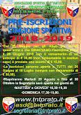 PREISCRIZIONI -SOCIETA' SPORTIVA 2018-2019