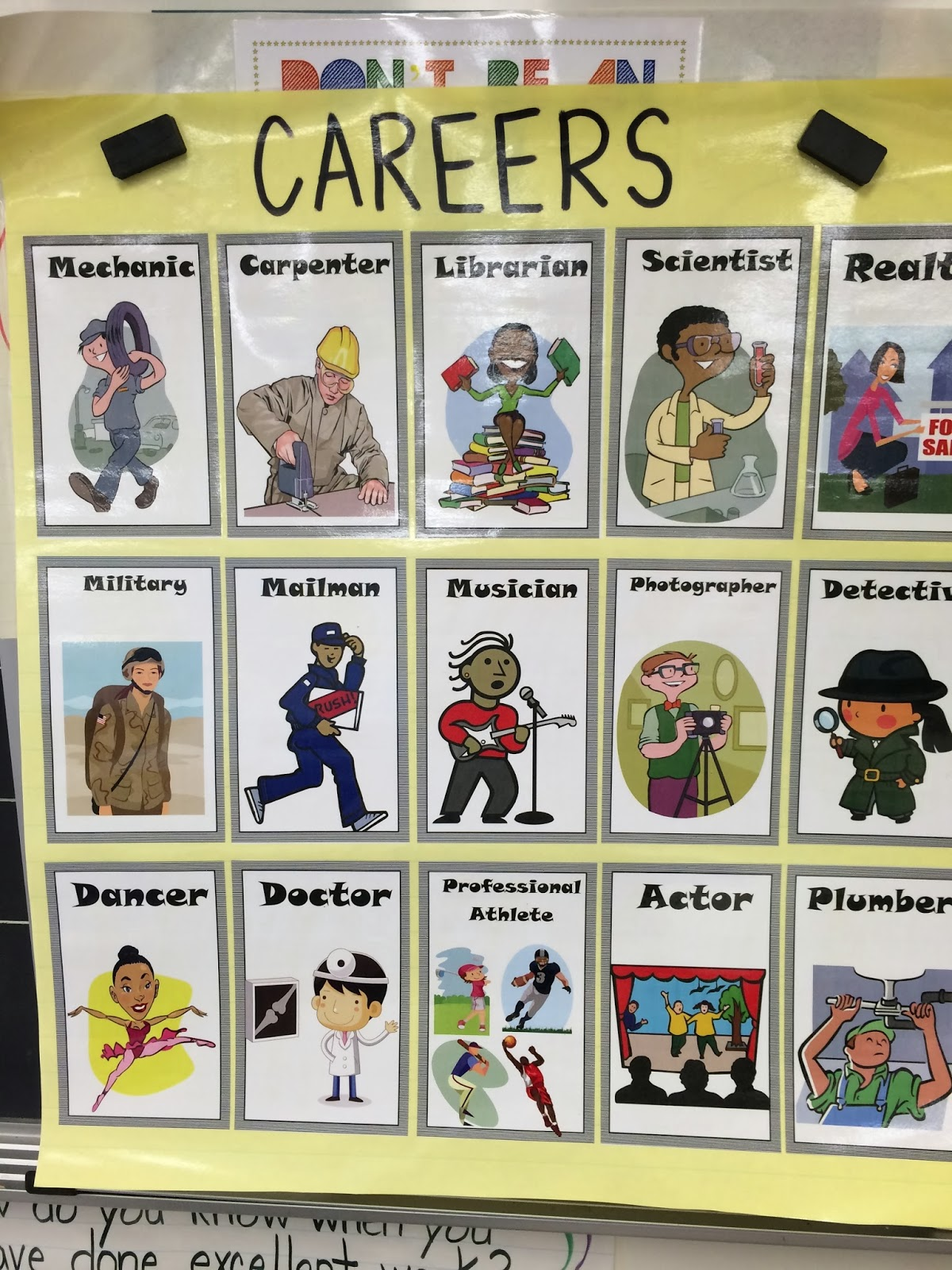 Ms. Sepp's Counselor Corner: Not a Box: Intro to Careers
