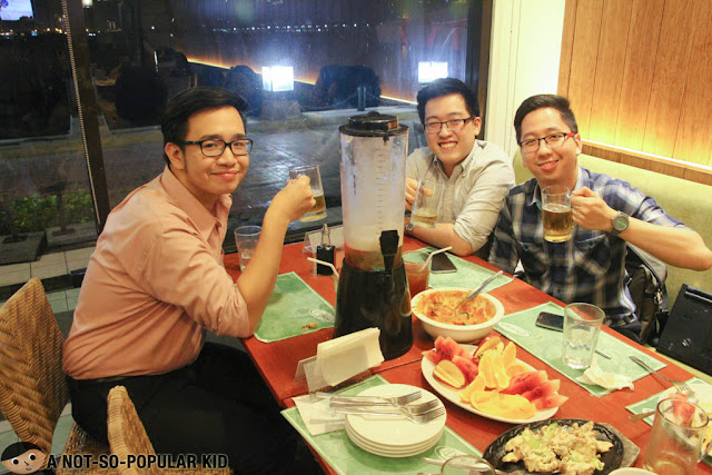 Renz Cheng, Troy Palanca and Emil Ong in Harbor Square