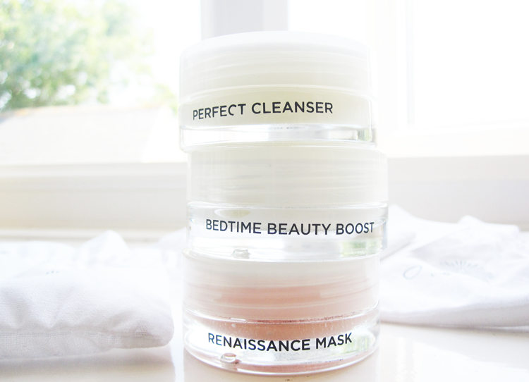 Oskia Perfect Cleanser, Bedtime Beauty Boost & Renaissance Mask review