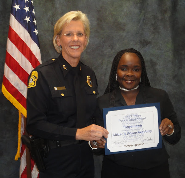 2011 Tampa Police Citizen Academy Class Graduation