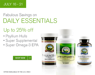 Daily Essentials Sale
