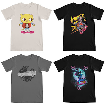 Back to the Future T-Shirt Collection by Threadless