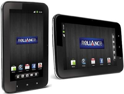 Reliance CDMA Tab