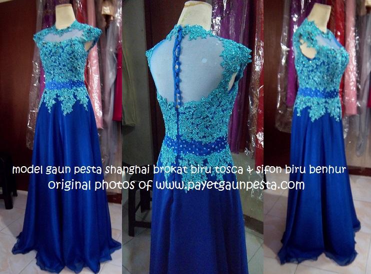 Baju Gamis Elvy Syari Y1026 Busana Muslim Brokat Terbaru Baju