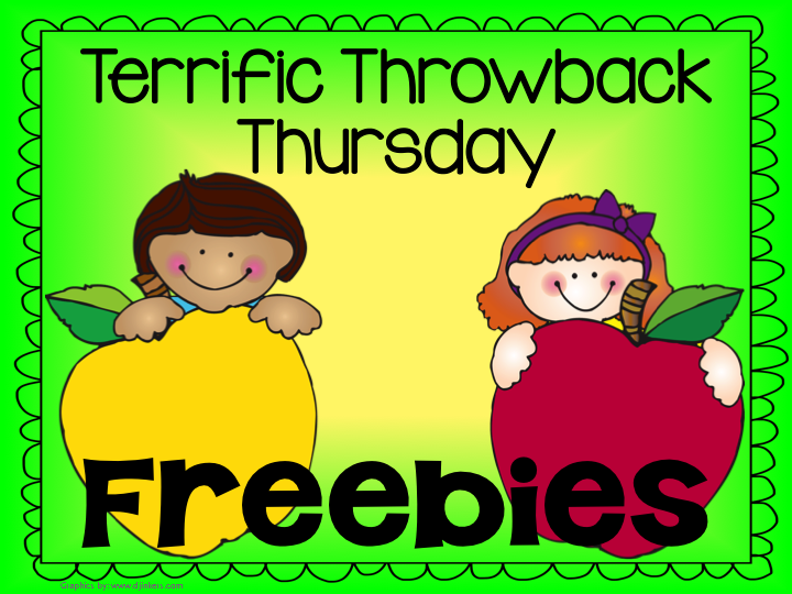 Jump into Summer with Two FREE Throwback Thursday Freebies!