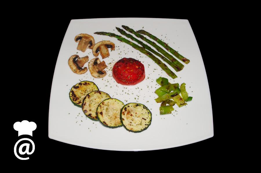 Recetas para adelgazar receta parrillada de verduras for Parrillada verduras