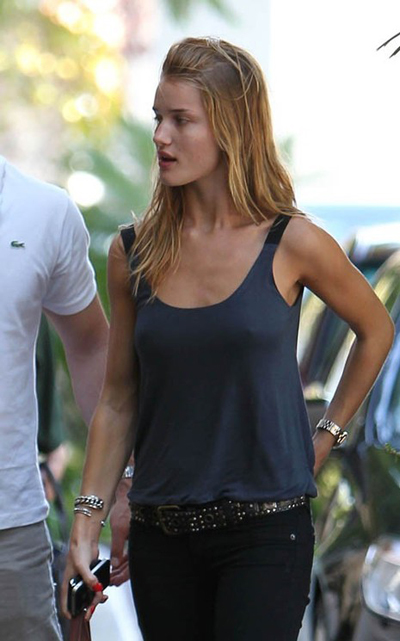 Rosie Huntington Whiteley Hairstyles 17