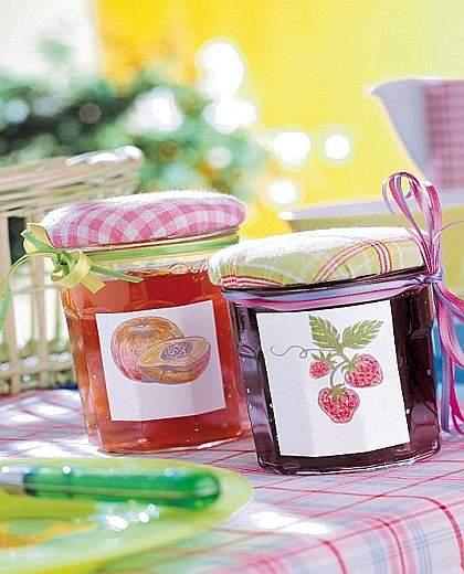 La cuoca di casa confezioni per le conserve dell 39 estate - Barattoli cucina colorati ...
