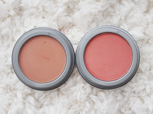 jordana powder blush review sunlit bronze coral sandy beach