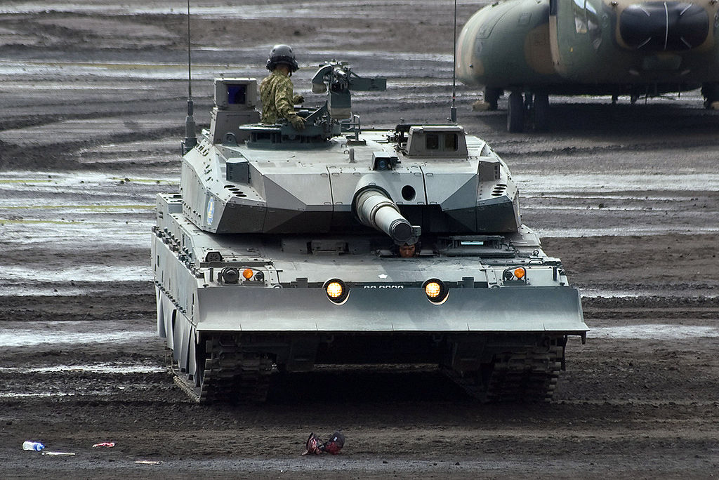 Battle tank mbt is designed to replace type 74 main battle tanks