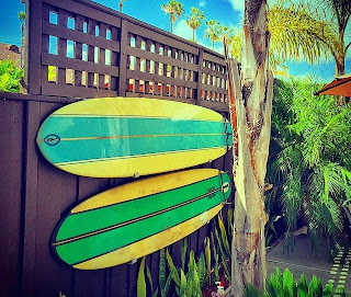outdoor surf rack