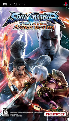 Free Download Soul Calibur Broken Destiny PSP Game Cover Photo