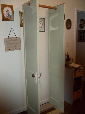Antque Door Closet