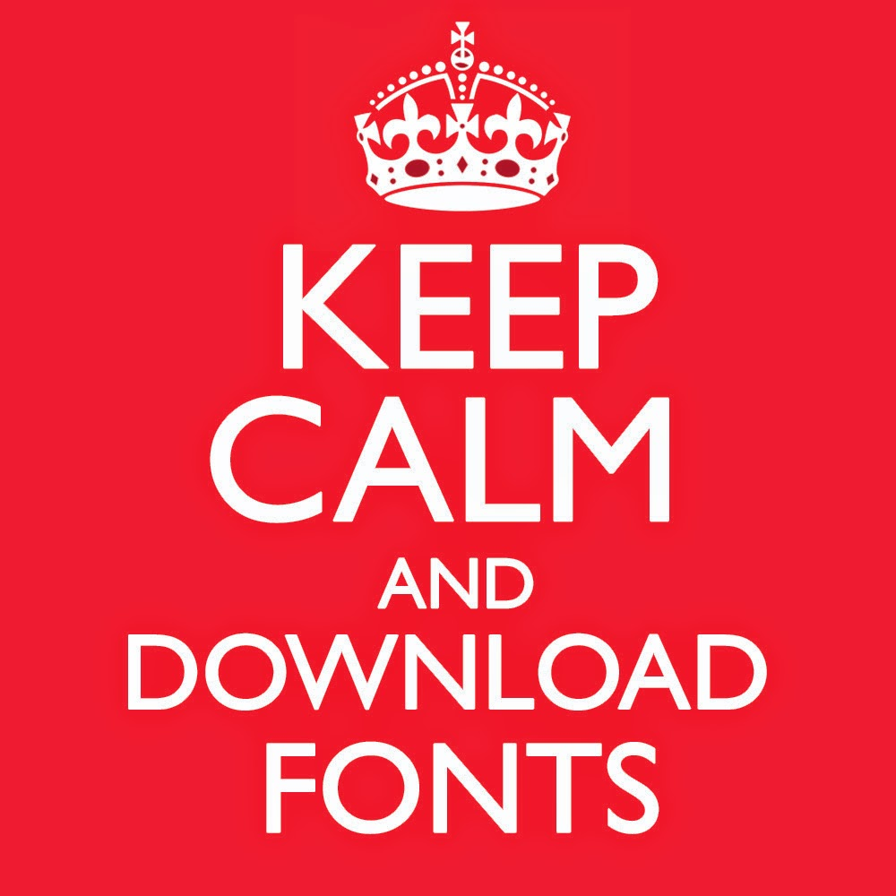 Breaking rad for Keep calm font download