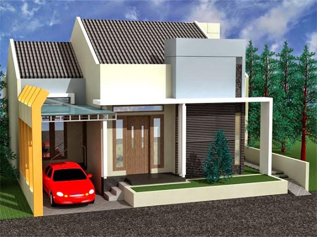Desain Rumah Typa 45 Terbaru