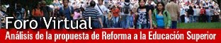 Foro virtual Reforma Ley 30