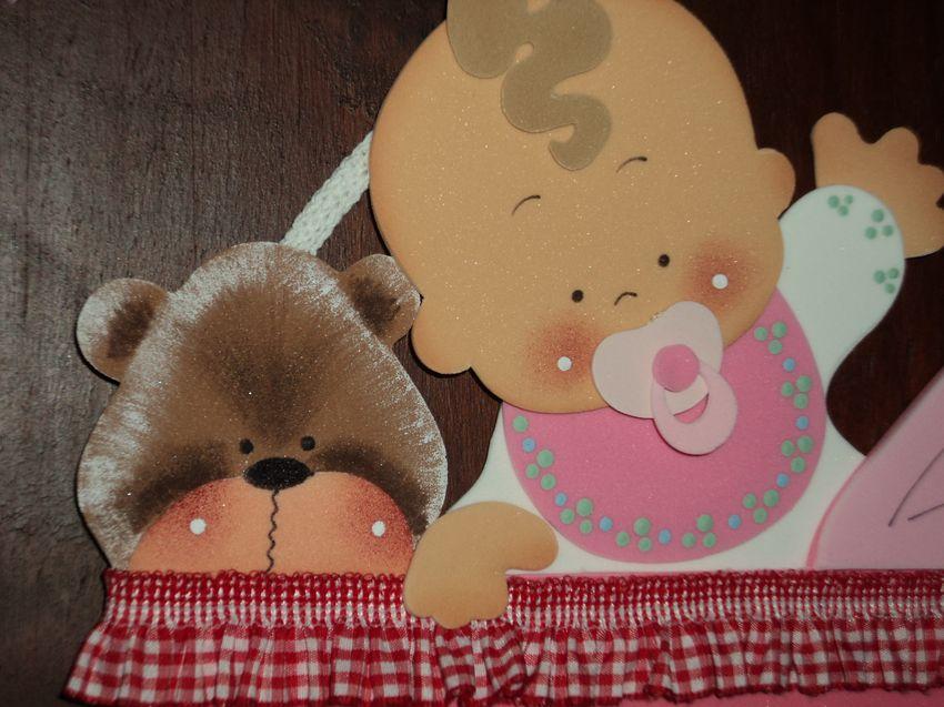 Tutorial de Artesanías: Cartel de Bienvenida para bebés