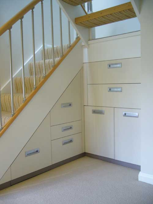 Design Ideas To Renovate Under Staircase