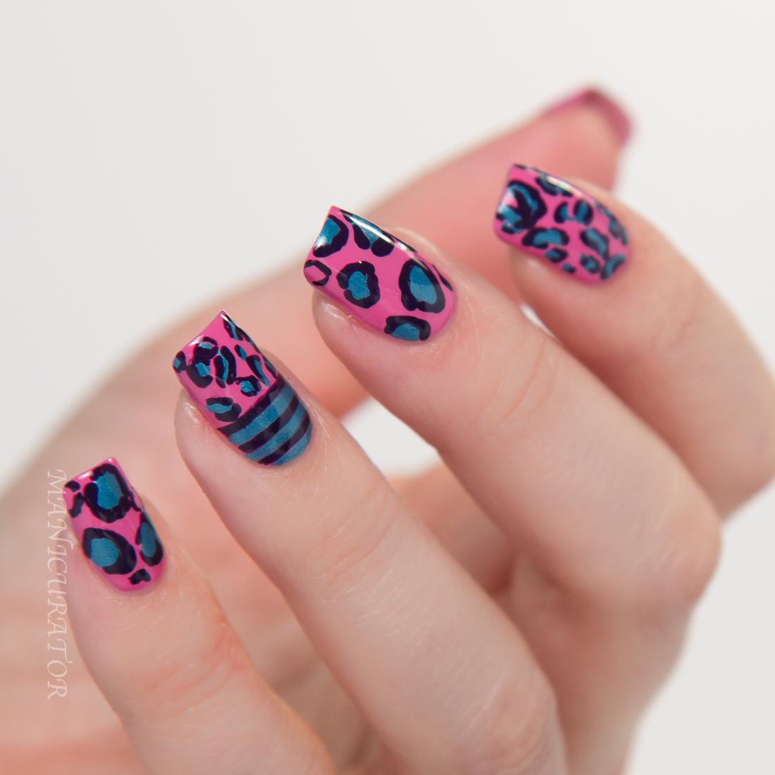 OPI-Suzi-Swede-Tooth-Al-Frisco-Grape-Affair-leopard-nail-art