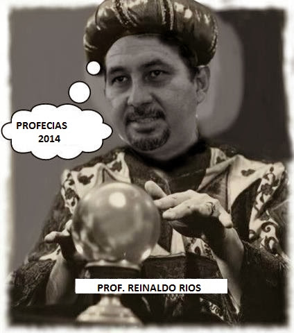 Profecias 2014 de Ufologo Reinaldo Rios llenas de mucho suspenso