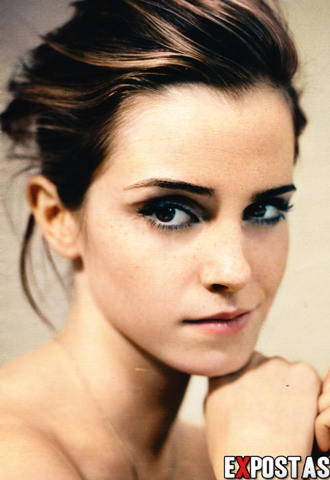 [SCANS + VÍDEO] Emma Watson: Glamour magazine UK BTS Video - Outubro de 2012