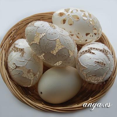 Jak zrobić ażurowe jajko pokazuje Anya.Es
