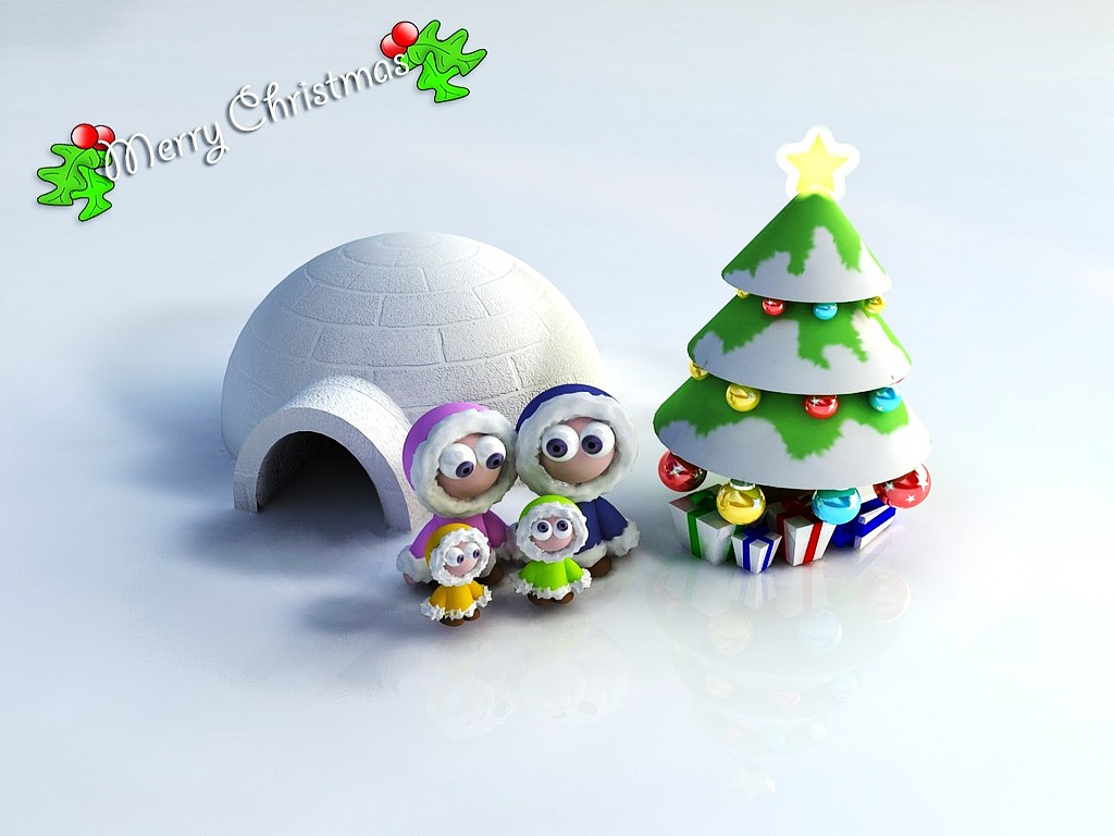 3d cute christmas wallpaper family christmas backgrounds 3d santa