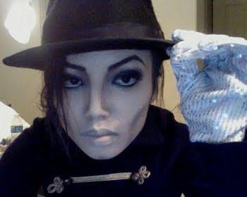Make up Artist Promise Tamang Phan as Michael Jackson