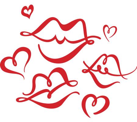 Kisses emoticon