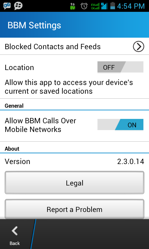 Download BBM mod Standalone Standart versi 2.3.0.14 (Dual BBM)   Yogi ...