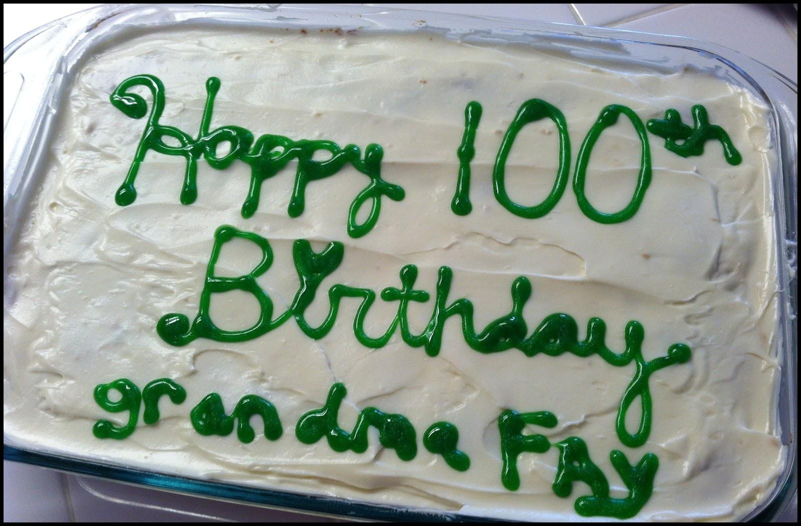 ... COOKING: Apple Cake & Happy Birthday Grandma Fay {my Angel in Heaven