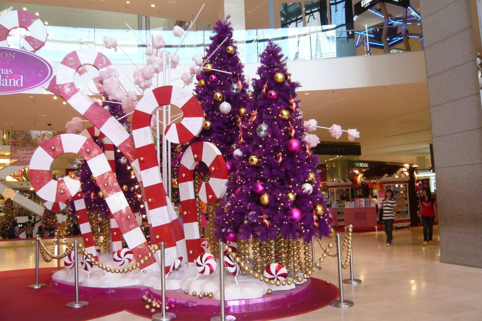 Оформление торговых залов для нового года