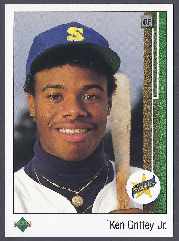 Ken Griffey, Jr. 1989 Upper Deck Rookie Card
