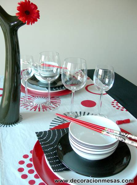 Decoracion de mesas mesa estilo oriental for Decoracion estilo oriental