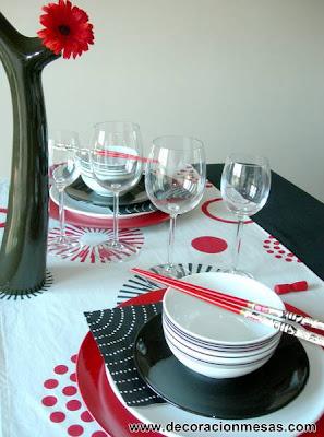 decoracion mesa estilo oriental 4