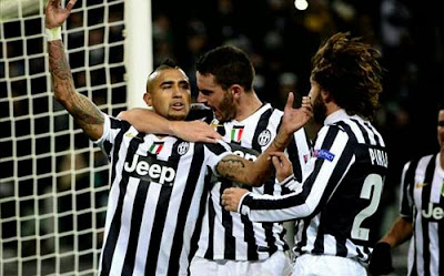 Xem lại đầy đủ trận Juventus vs Kobenhavn