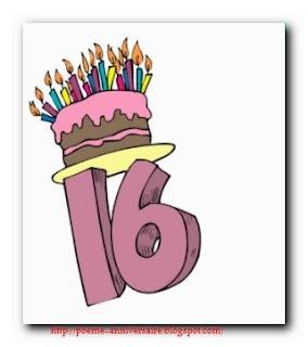 Poème joyeux anniversaire